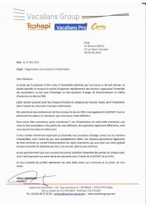 courrier de M. Ganivenq 12 mai 2016
