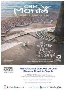 NETTOYAGE DE LA PLAGE 16 avril 2017